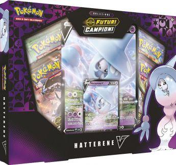 Pokémon V Futuri Campioni Collezione Speciale Hatterene-V   Gioco di Carte Collezionabili