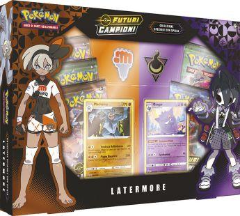 Pokémon Collezione Speciale Con Spilla Latermore | Gioco di Carte Collezionabili