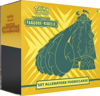 Pokémon Set Allenatore Fuoriclasse Fragore Ribelle   Gioco di Carte Collezionabili