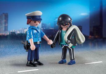 Poliziotto e Ladro Playmobil Figures 9218 su ARSLUDICA.com