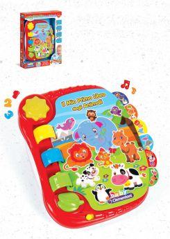 Primo Libro degli Animali (Prima Infanzia Baby Clementoni) su ARSLUDICA.com