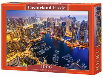 Dubai at Night (Puzzle 1000 pezzi Castorland)