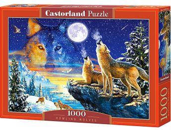 Lupi Ululanti (Puzzle 1000 pezzi Castorland)