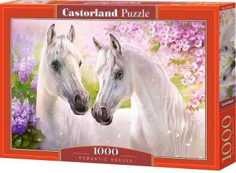 Puzzle 1000 pezzi Castorland Romantici Cavalli   Puzzle Animali