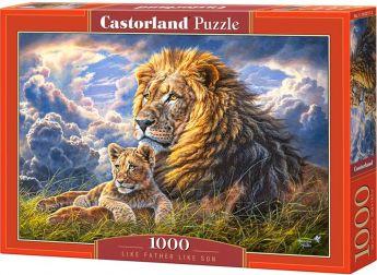 Puzzle 1000 pezzi Castorland Tale Padre Tale Figlio | Puzzle Animali