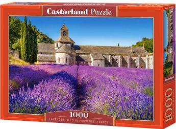 Puzzle 1000 pezzi Castorland Campi di Lavanda in Provenza | Puzzle Paesaggi