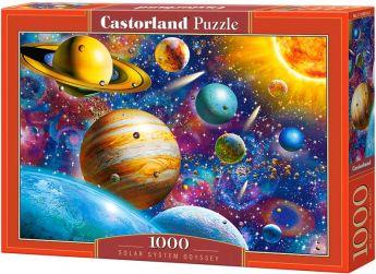 Puzzle 1000 pezzi Castorland Odissea Sistema Solare | Puzzle Spazio