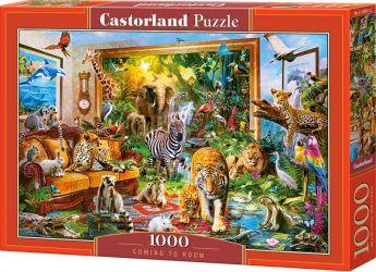Puzzle 1000 pezzi Castorland Entrando nella Stanza | Puzzle Animali