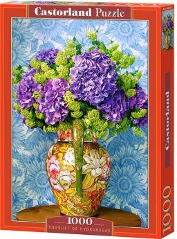 Puzzle 1000 pezzi Castorland Bouquet di Ortensie | Puzzle Fiori