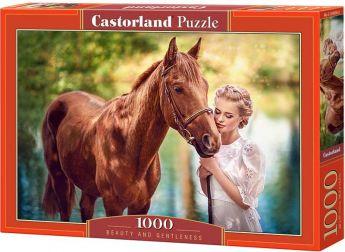 Puzzle 1000 pezzi Castorland Bellezza e Gentilezza | Puzzle Animali