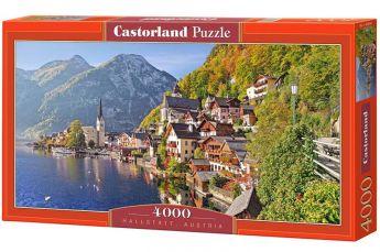 Puzzle 4000 pezzi Castorland Hallstatt, Austria | Puzzle Paesaggi