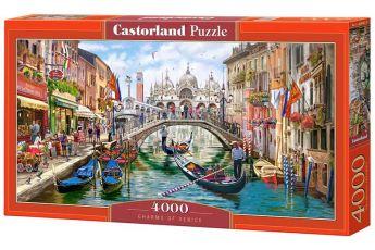 Puzzle 4000 pezzi Castorland Fascino di Venezia | Puzzle Città Italia