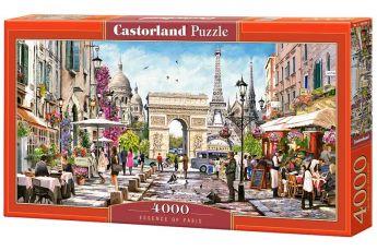 Puzzle 4000 pezzi Castorland Essenza di Parigi | Puzzle Città