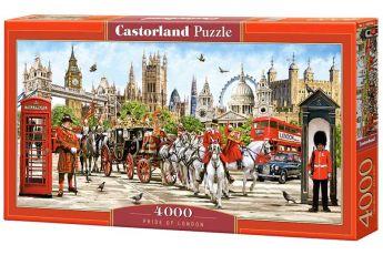 Puzzle 4000 pezzi Castorland Orgoglio di Londra | Puzzle Città
