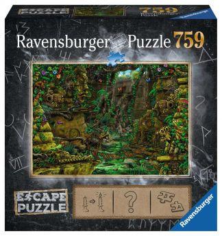 Puzzle Escape Room 759 pezzi Ravensburger Il Tempio Box