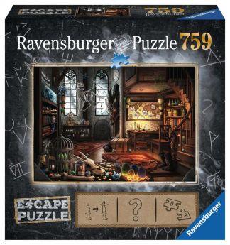 Puzzle Escape Room 759 pezzi Ravensburger Stanza del Drago Box