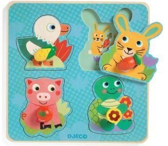 PUZZLE CROC-CARROT | Puzzle Djeco