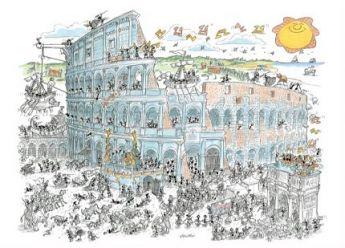 Colosseo (Puzzle 1080 Pezzi Formiche)