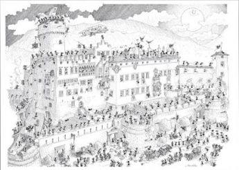 Egitto (Puzzle 1080 Pezzi Formiche)