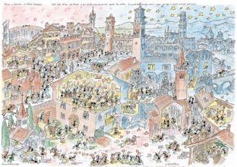 Romeo e Giulietta (Puzzle 1080 Pezzi Formiche)