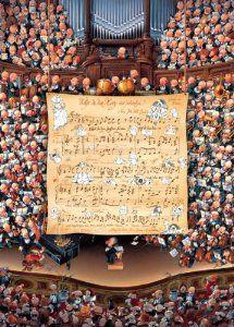 Score (Loup Puzzle Heye 1000 pezzi)