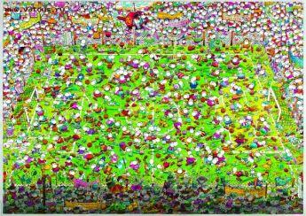 Crazy World Cup (Mordillo Puzzle Heye 4000 pezzi)