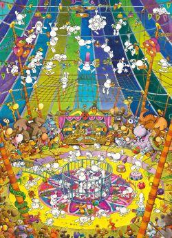 Puzzle Mordillo 1000 pezzi Clementoni The Show