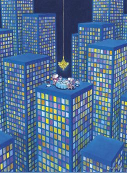 Puzzle Mordillo 500 pezzi Clementoni The Dinner