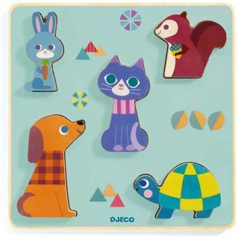 PUZZLE MOUSTACHA | Puzzle Djeco