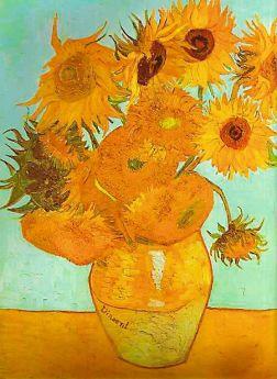 Puzzle Arte 1500 pezzi Ravensburger Van Gogh: Vaso con Girasoli
