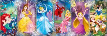 Puzzle 1000 pezzi Disney Princess Clementoni su ARSLUDICA.com