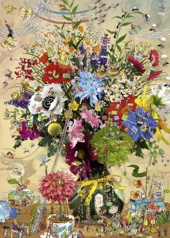 Puzzle 1000 pezzi Flower's Life, Degano Heye su ARSLUDICA.com