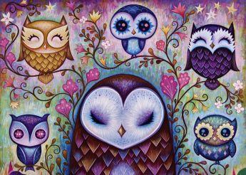 Puzzle 1000 pezzi Great Big Owl Heye su ARSLUDICA.com