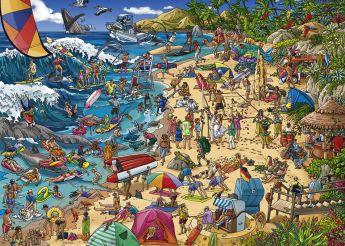 Puzzle 1000 pezzi Heye Seashore, Tanck su ARSLUDICA.com