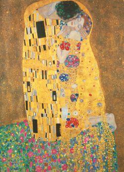 Puzzle Arte 1000 pezzi Clementoni Klimt Il Bacio