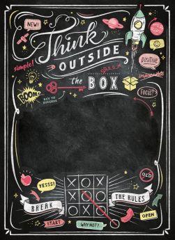 Puzzle Speciali 1000 pezzi Clementoni Lavagna Think Outside the Box