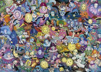 Puzzle 1000 pezzi Masquerade, Hartmann Heye su ARSLUDICA.com