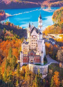 Puzzle Paesaggi 1000 pezzi Clementoni Neuschwanstein