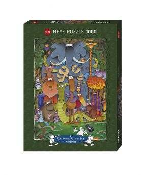 Puzzle 1000 pezzi Photo Mordillo Heye su ARSLUDICA.com