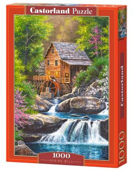 Puzzle 1000 pezzi Spring Mill Castorland su arsludica.com