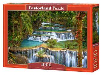 Puzzle 1000 pezzi The Cascade Castorland su arsludica.com
