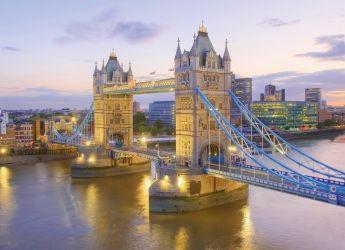 Puzzle Città 1000 pezzi Clementoni Tower Bridge