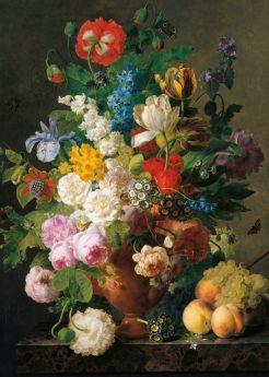 Puzzle Arte 1000 pezzi Clementoni Van Dael Vaso di Fiori