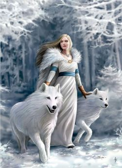 Puzzle Fantasy 1000 pezzi Clementoni Anne Stokes Winter Guardians