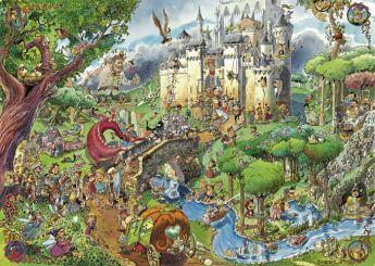 Puzzle 1500 pezzi Fairy Tales - Prades Heye su ARSLUDICA.com