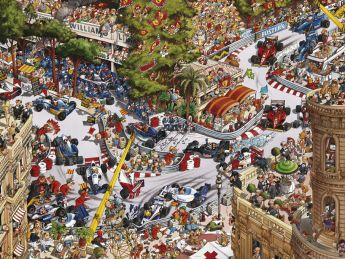 Puzzle 1500 pezzi Heye Monaco Classics, Loup su ARSLUDICA.com