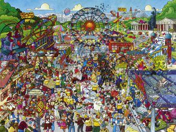 Puzzle 1500 pezzi Heye Oktoberfest, Schöne su ARSLUDICA.com
