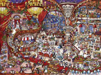 Puzzle 1500 pezzi Heye Patisserie, Berman su ARSLUDICA.com