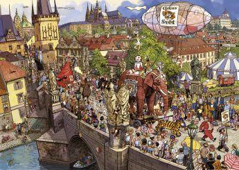 Puzzle 2000 pezzi Heye Street Parade, Göbel/Knorr su ARSLUDICA.com