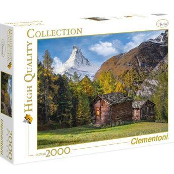 Puzzle Paesaggi 2000 pezzi Clementoni Fascination With Matterhorn